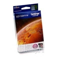 Картридж Brother LC1100HY-M пурпурный