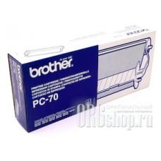 Картридж Brother PC-70 черная