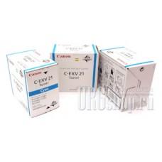 Картридж Canon C-EXV21 Cyan голубой
