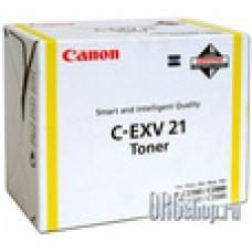Картридж Canon C-EXV21 Yellow желтый