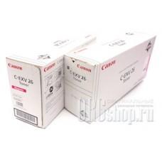 Картридж Canon C-EXV26 Magenta пурпурный