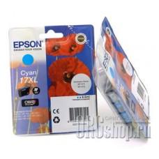 Картридж Epson C13T17124A10 голубой