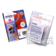 Картридж Epson C13T17134A10 пурпурный