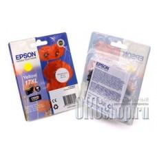 Картридж Epson C13T17144A10 желтый