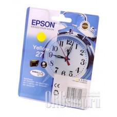 Картридж Epson C13T27044020 желтый