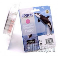 Картридж Epson C13T76064010 светло-пурпурный