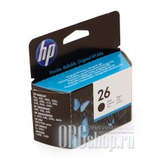 Картридж hp 26 черный HP 51626A