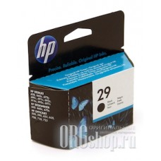 Картридж hp 29 черный HP 51629A