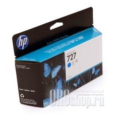 Картридж HP B3P19A голубой