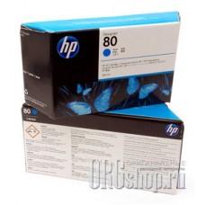 Картридж 80 с голубыми чернилами HP C4846A