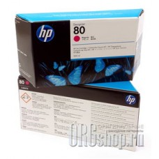 Картридж 80 с красными чернилами HP C4847A