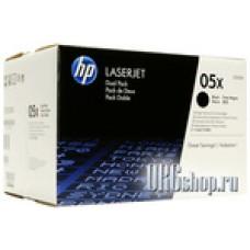 Два картриджа 05x HP CE505XD