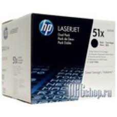Два картриджа HP Q7551XD