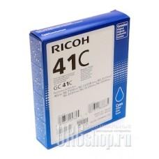 Картридж Ricoh GC-41C голубой