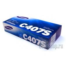 Картридж Samsung CLT-C407S голубой
